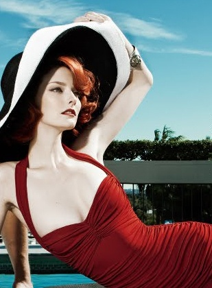 Beautiful!!! Model Lydia Hearst PhotographersSteven Gomillion & Dennis Leupold