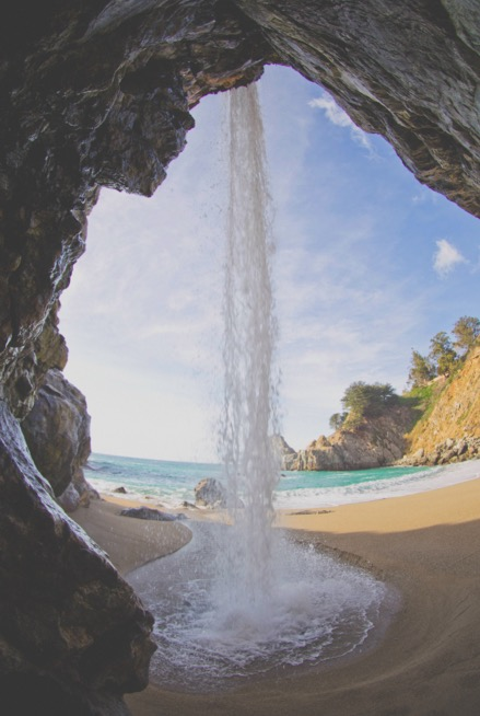 Under McWay Falls