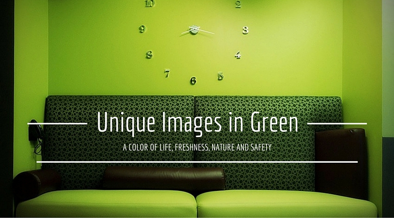 Unique Images in Green