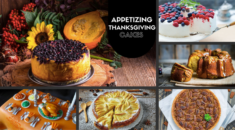 43 Appetizing Thanksgiving Cakes