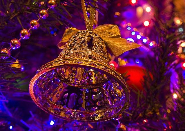 колокола новогодние картинки