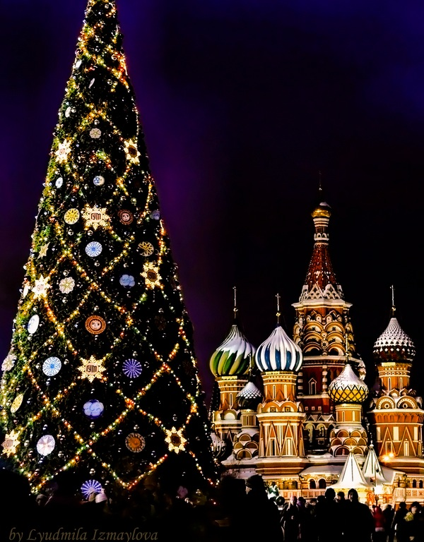 Christmas Tree in Red Square