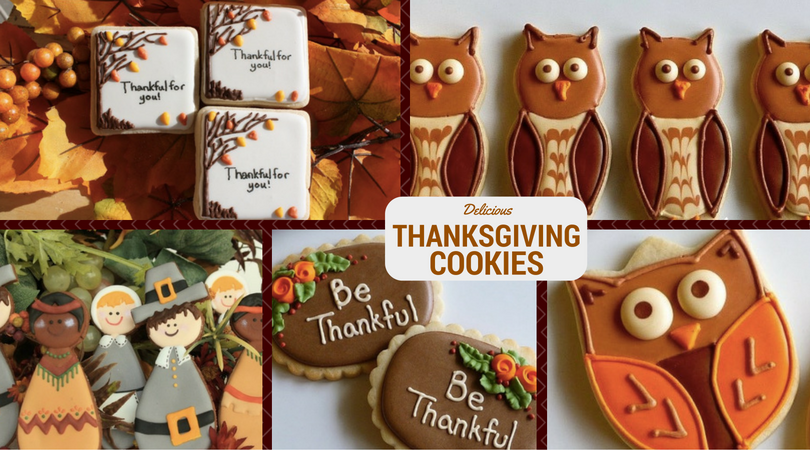 37 Delicious Thanksgiving Cookies