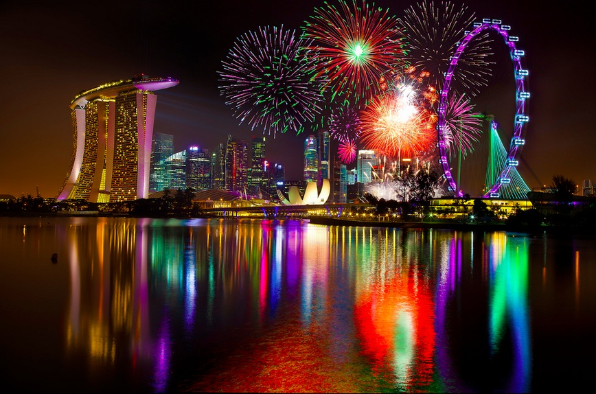 World Best Fireworks of Singapore – Photography by Kenny Teo