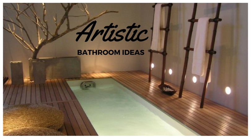 41 Artistic Bathroom Ideas