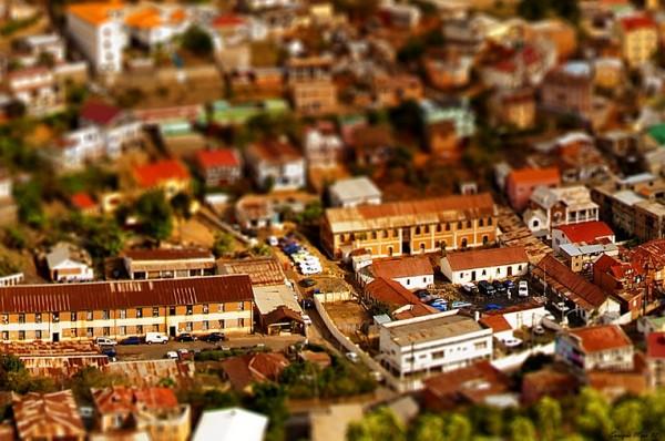 Tilt Shift Antananarivo