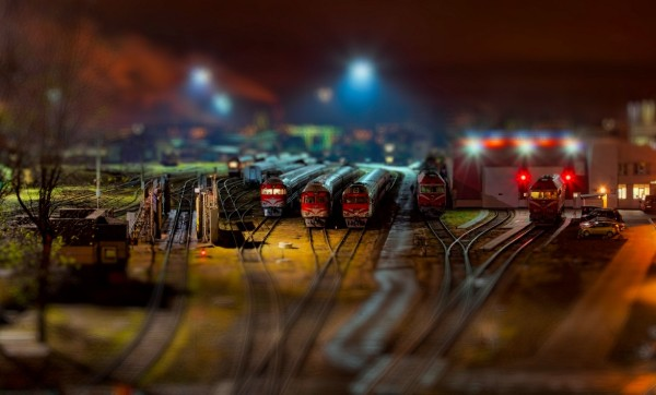 Toy Trains ( © Laimonas Ciūnys)