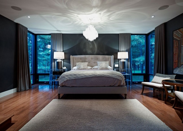 Bedroom ideas 24 unique ideas for your master bedroom for Unique master bedroom designs