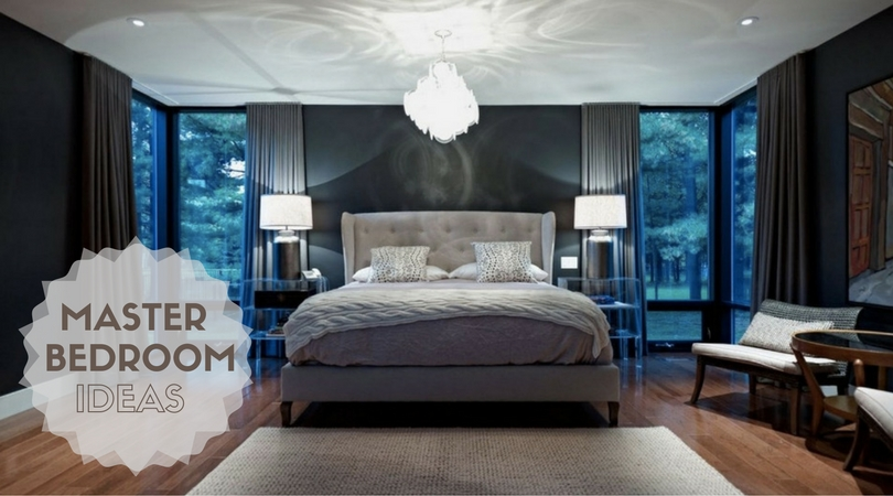 Modern master bedroom ideas for Unique master bedroom designs