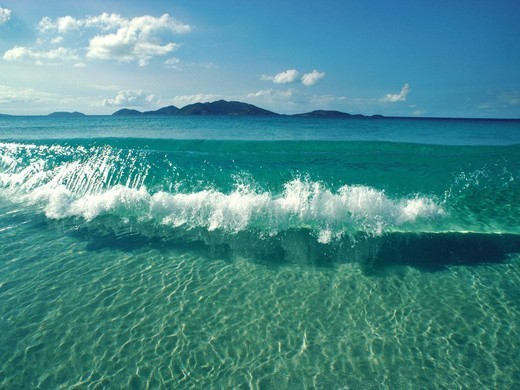 Sparkling Crystal Clear – Beautiful Ocean Water