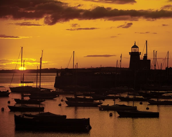 Howth Harbour Sunset