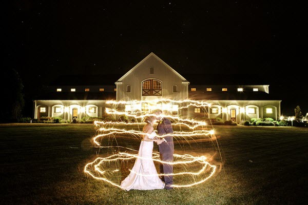 Light Painted Love