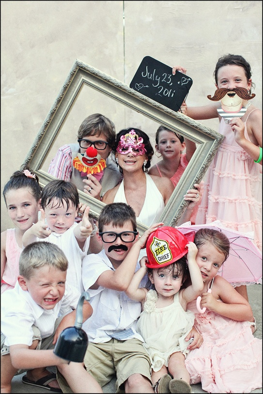 Love this image – capture the bride and all the little ones together on the big day