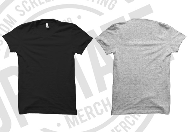upstate merch t shirt mockup template cool digital photography