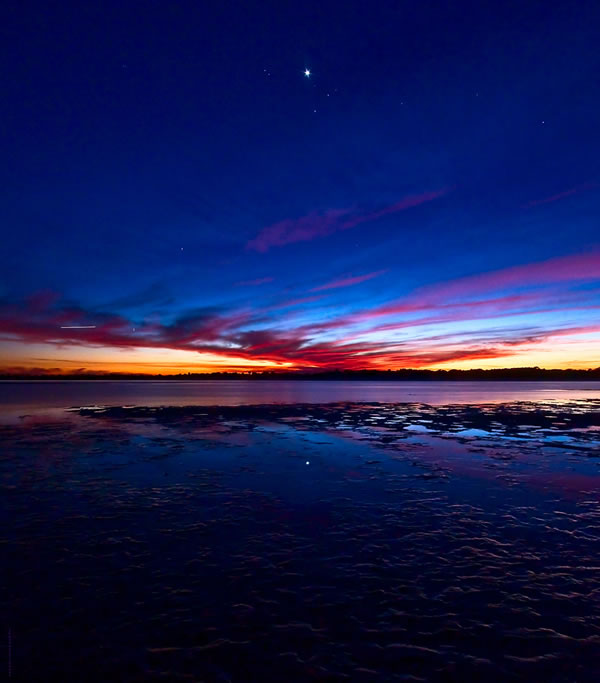 Venusian Sunset Matanzas Inlet
