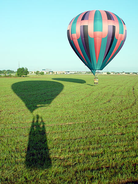 Balloon and Shadows