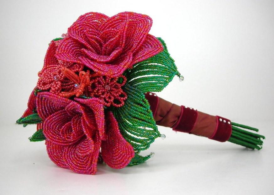 FB Pink Bridal Bouquet
