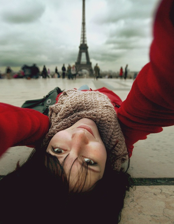Selfportrait with Eiffel