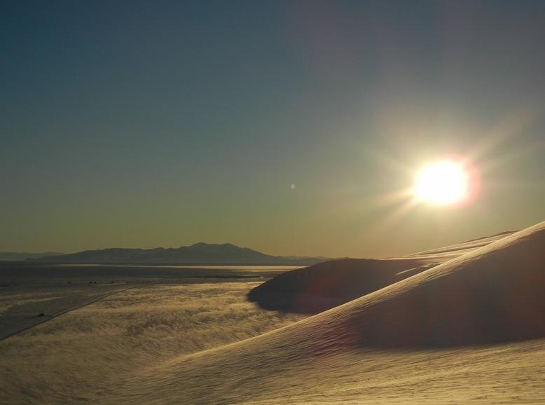 2am in Antarctica