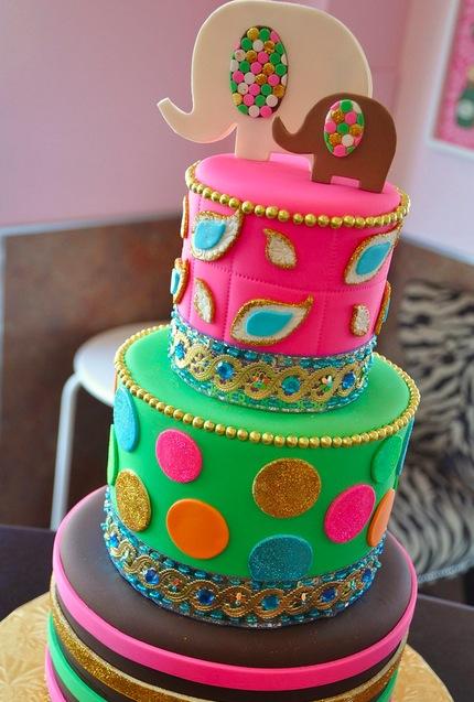 Ballywood Baby Shower Cake
