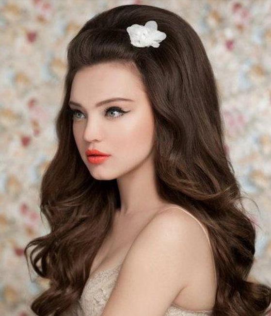 Big bridal hairstyle