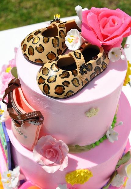 Cheetah Shower