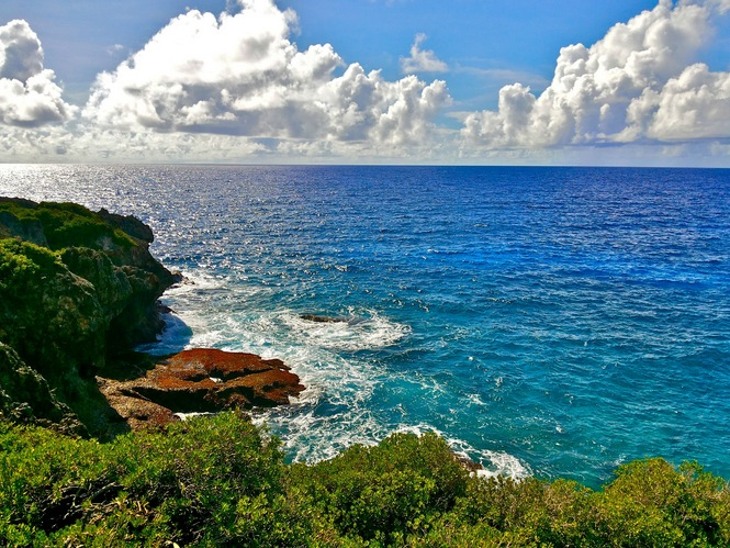 I took a hike this morning. Got a nice view also. Located at my beautiful island of Guam