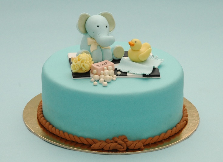 Ready for a Shower baby shower cake