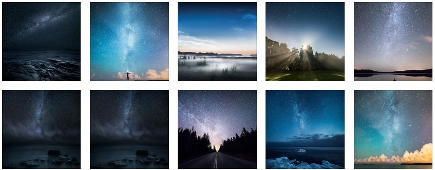 Nocturnal Photography by Mikko Lagerstedt