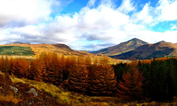 There is no better time to hike the West Highland Way, Scotland, than in the fall