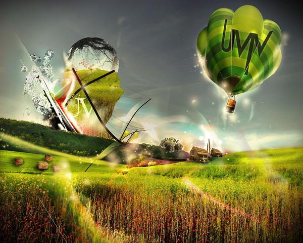 Abstract Balooning