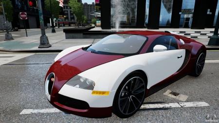 Bugatti Veyron for GTA 4