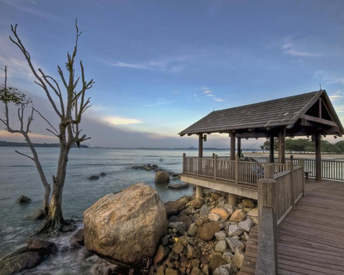 Creek Walk @ Changi Boardwalk : HDR