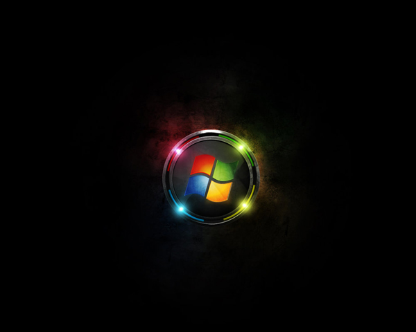 Futuristic Windows wallpaper