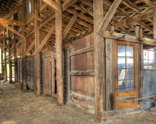 HDR Barn Door>