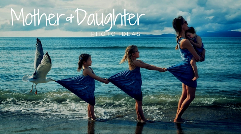 50 Lovely Mother And Daughter Photo Ideas