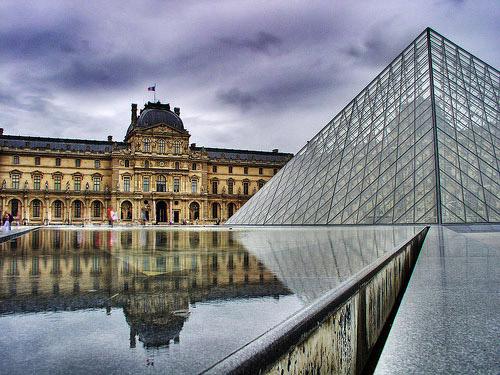 Musee du Louvre – HDR, Museum, Paris