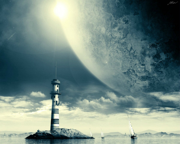Space Lighthouse