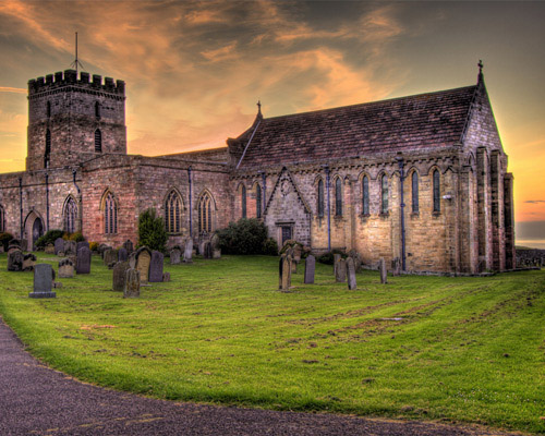 St. Aidan's Church, Bamburgh (HDR)