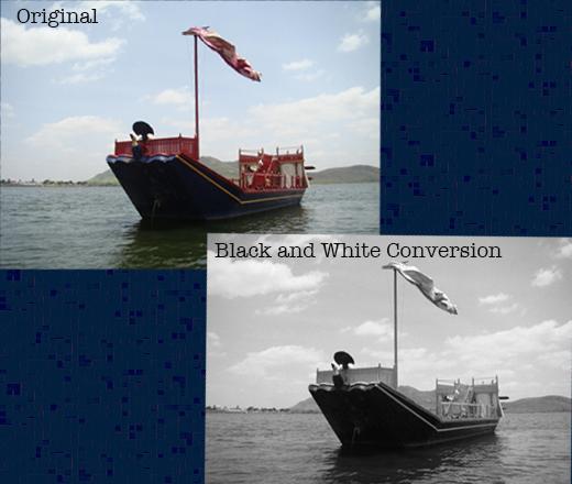 black and white conversion