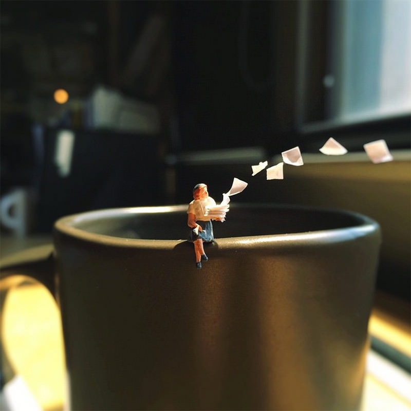iPhone + MiniFigures + AgencyLife = Cool Digital Photography