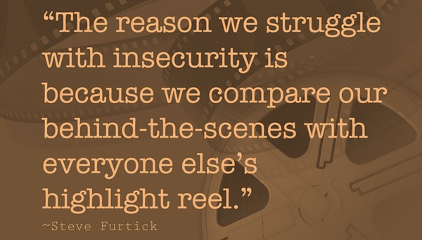 struggle with insecurity
