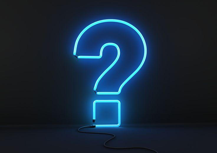 Question mark light 5