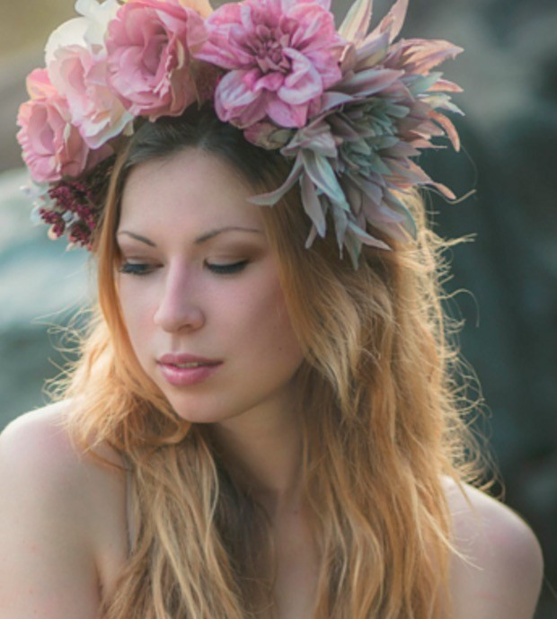 Flower headdress