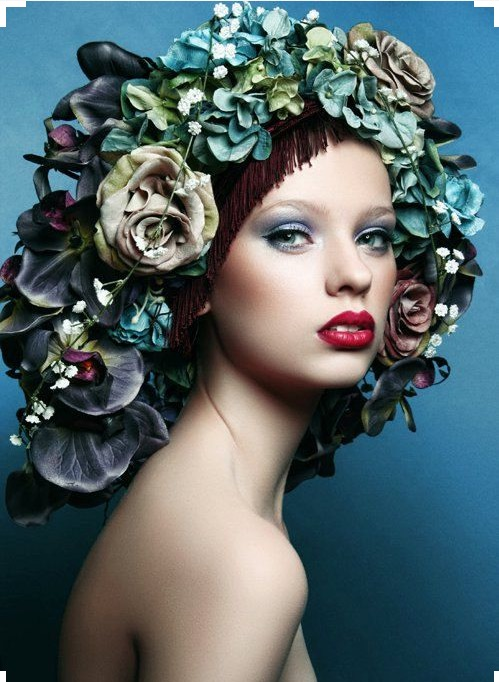 Flowered fashion