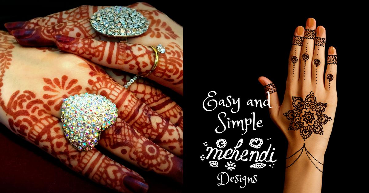 Mehndi Design 2018 Easy And Simple Mehndi Design For Weddings