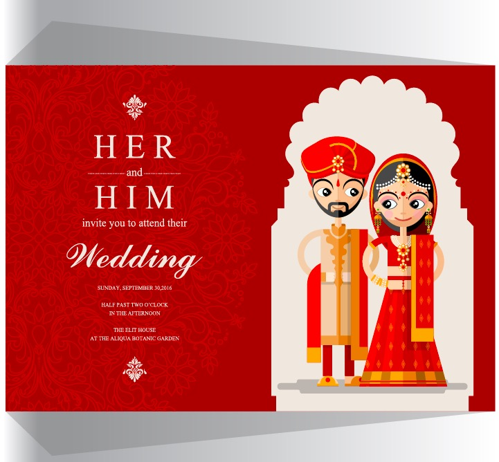 Indian Wedding Invitation Card Cool Digital Photography