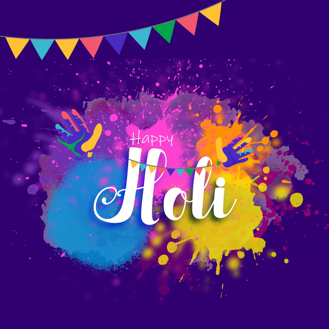 Wishing all colours of joy on holi